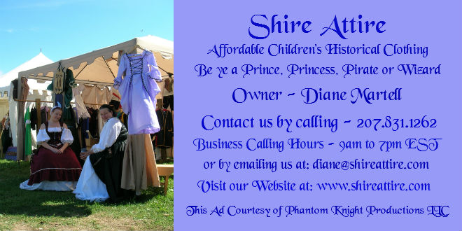 Vendor 05 Shire Attire Historical Clothing for Children